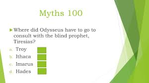 Blind Prophet In The Odyssey The Odyssey Part 1 Jeopardy Review Ppt Online Download