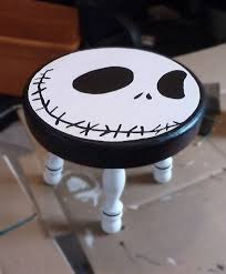 the nightmare before christmas u2013 wooden nursery stool sweet and