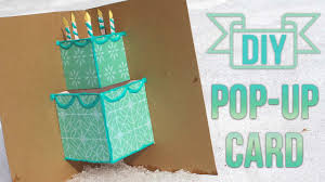 create a birthday card how to make a simple pop up birthday card