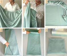 Folding Bed Sheets Great Organization Ideas Fold Bed Sheets Folding Fitted Sheets