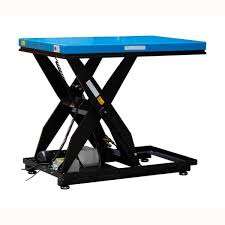 Scissor Lift Tables Scissor Lift Table Electric With Built In Scale Htwe Series