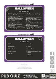 printable quizzes uk halloween quizzes and answers printable printable pages