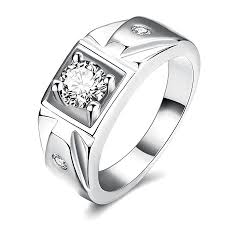 buy fashion rings images Buy fashion zircon ring wedding stainless steel classical men jpg