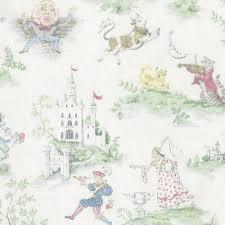 Mini Crib Sheet by Nursery Rhyme Toile Mini Crib Sheet Carousel Designs