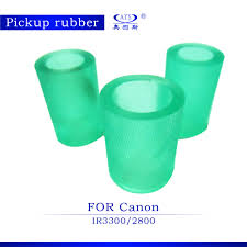 3pcs set green copier rubber for canon ir3300 ir2800 parts ir3300