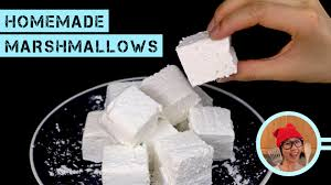 homemade marshmallows no corn syrup no thermometer youtube