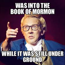 Joseph Smith Meme - the book of mormon on twitter joseph smith the original hipster