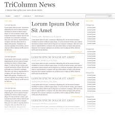 Google Doc Newspaper Template Build A Newspaper Theme With Wp Query And The 960 Css Framework