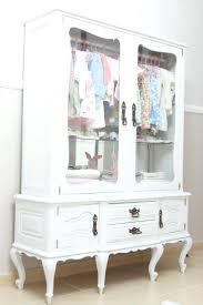 White Wardrobe Closet Antique Cherry Armoire Wardrobe Storage Closet Cabinet Bedroom
