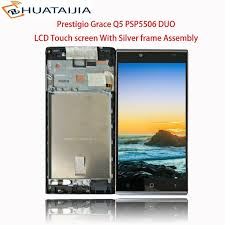 Lcd Q5 lcd display touch screen for prestigio grace q5 psp5506 duo