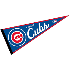 Chicago Cubs Flags Amazon Com Chicago Cubs Mlb Large Pennant Sports U0026 Outdoors