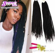 what hair to use for crochet braids 2018 hot sell 14inch synthetic box braid hair crochet braids 1b