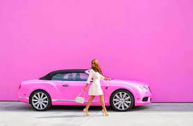 pink bentley in the pink for breast cancer awareness rusnak events