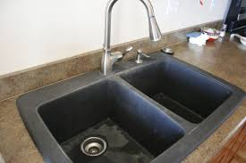 battle of the black granite beauteous kitchen sinks granite