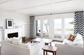 White Chevron Curtains Stylish Black And White Chevron Curtain Best Curtains Design 2016