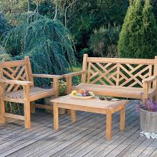 Teak Outdoor Furniture Atlanta by Kingsley Bate Chippendale 4 U0027 Bench Garden Benches Pinterest