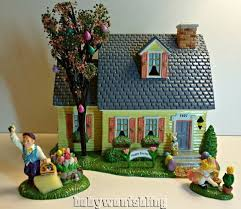 Easter Bunny Village Decorations by 153 Best Images About 04 Holiday Easter On Pinterest Victorian