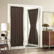 Blackout Door Panel Curtains Thermal Insulated Door Curtain Blackout Door Panel 54x72