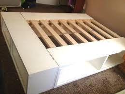 The Budget Decorator by Diy Storage Beds The Budget Decorator Endear Bed Frame With Diy