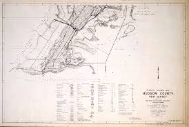 New York And New Jersey Map by Historical Hudson County New Jersey Maps