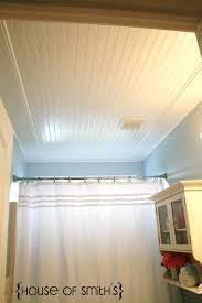 beadboard ceiling tutorial