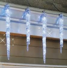 icicle christmas lights 20 led hanging icicle christmas lights 9 outdoor twinkling