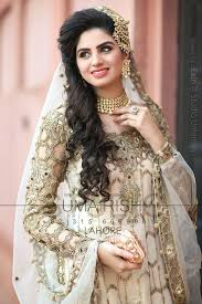 new bridal dresses new bridal hairstyle look dresses khazana