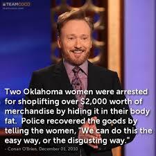 Shoplifting Meme - joke two oklahoma women were arrested for shoplifting o conan