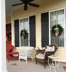 decoration minimalist picture of christmas front porch decoration