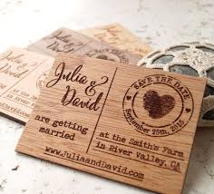 affordable save the dates 25 best laser cut save the dates ideas on save the
