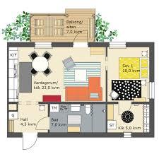 Ikea Prefab Home Flex 1 Bedroom 55 Sq M By Ikea And Skanska Small Homes 500