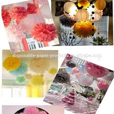 lemonade diy party decoration ideas backdrop hanging tissue