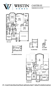 Garage Loft Floor Plans Plan Details Westin Homes