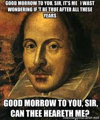 Shakespeare Lyrics Meme - rachel burgess on twitter hello it s me making