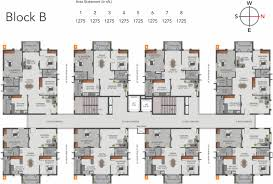Typical Floor Plans Of Apartments Greenmark Galaxy Apartments In Kondapur Hyderabad Price
