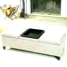 large round storage ottoman round storage ottoman coffee table croosle co