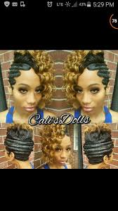 black women with 29 peice hairstyle love hove the waves has made a come back shayell pinterest