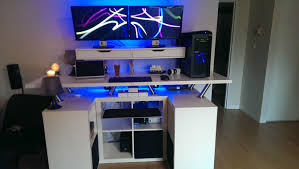 decorations attractive ikea workspace ideas with modern