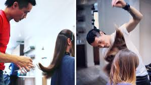 dry cut hair trend here u0027s why stylists love it and you will too