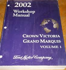 28 2002 workshop manual crown victoria grand marquis vol 2 1799