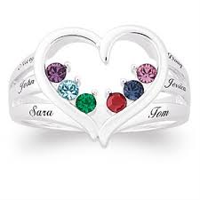 rings with birthstones and names affordable mothers rings rings for 50 that don t look