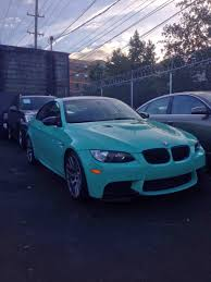 porsche mint green paint code the only mint green e92 m3 in north america bmw