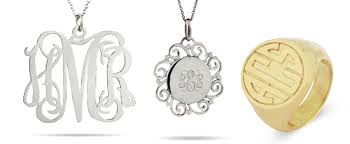 Monogramed Jewelry Monogram Jewelry Archives Evesaddiction Com Jewelry Blog