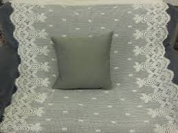knit nat quick craft lace curtains to pillowcases