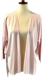 light pink cardigan sweater wolford light pink open cardigan sweater pullover size 8 m tradesy