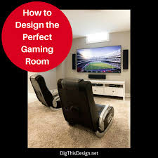 home gaming room design ideas dig this design