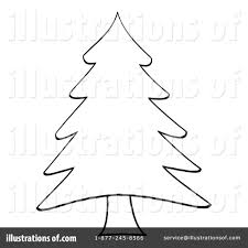 christmas tree clipart 434379 illustration by hit toon