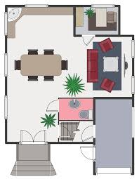 Draw Simple Floor Plans by Floor Plans Solution Conceptdraw Com