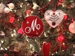 holiday felt ornaments hgtv