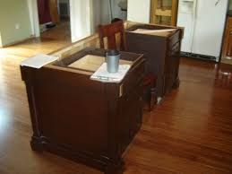 how to make a kitchen island with cabinets archives www